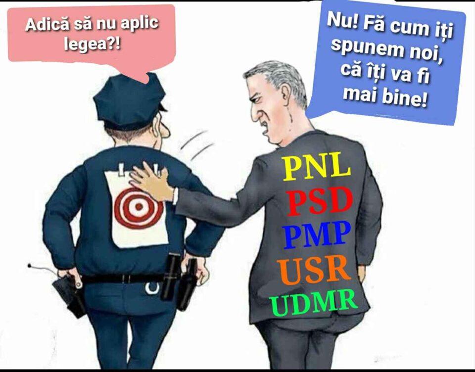 Sindicatul Europol cere intervenția CSAT pentru salvarea Poliției Române. foto: Sindicatul Europol - FB