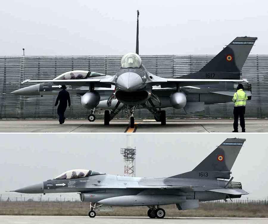 Două avioane de luptă F-16 Fighting Falcon, din lotul de cinci, au sosit în țară