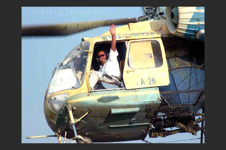 Comandorul Valer Novac, cel mai bun pilot de elicopter din România, a decedat