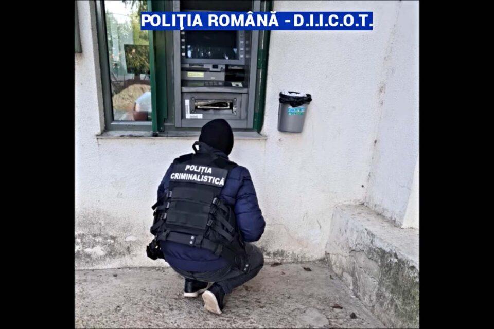Hoții din bancomate: Cum acționau cei 4 indivizi prinşi în flagrant când încercau să detoneze un bancomat - VIDEO