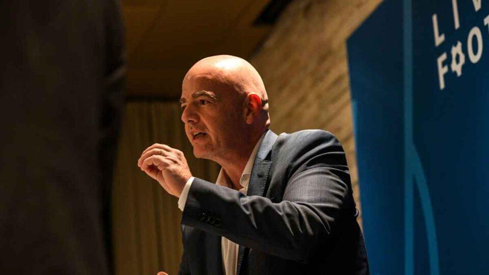 Preşedintele FIFA, Gianni Infantino, testat pozitiv cu Covid-19. foto: FIFA