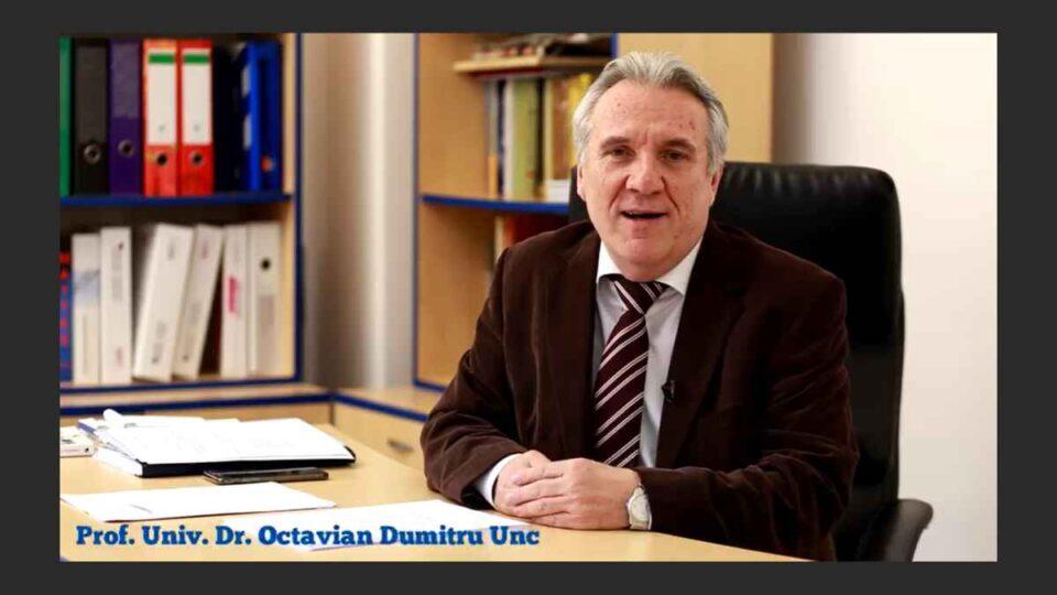 Renumitul chirurg Dumitru Octavian Unc a murit, fiind infectat cu COVID-19