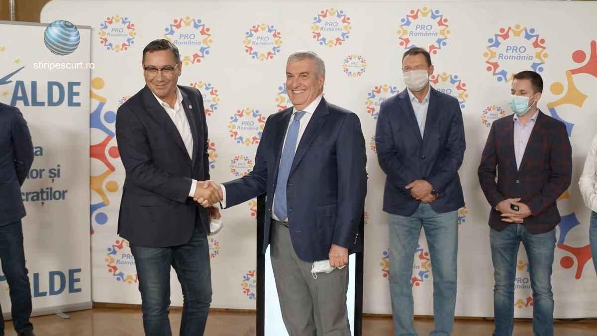 ALDE și PRO România au decis oficial fuziunea: Rol de busolă politică
