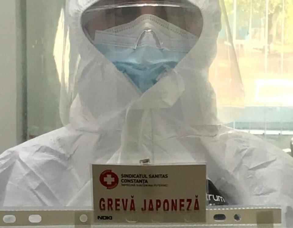 Sindicaliştii din Sănătate, în grevă japoneză de Ziua Mondială a Muncii Decente. Care le sunt cererile