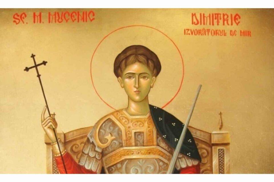 Tradiții de Sfântul Dimitrie Izvorâtorul de mir, patronul păstorilor şi vestitorul iernii, sărbătoare 26 Octombrie