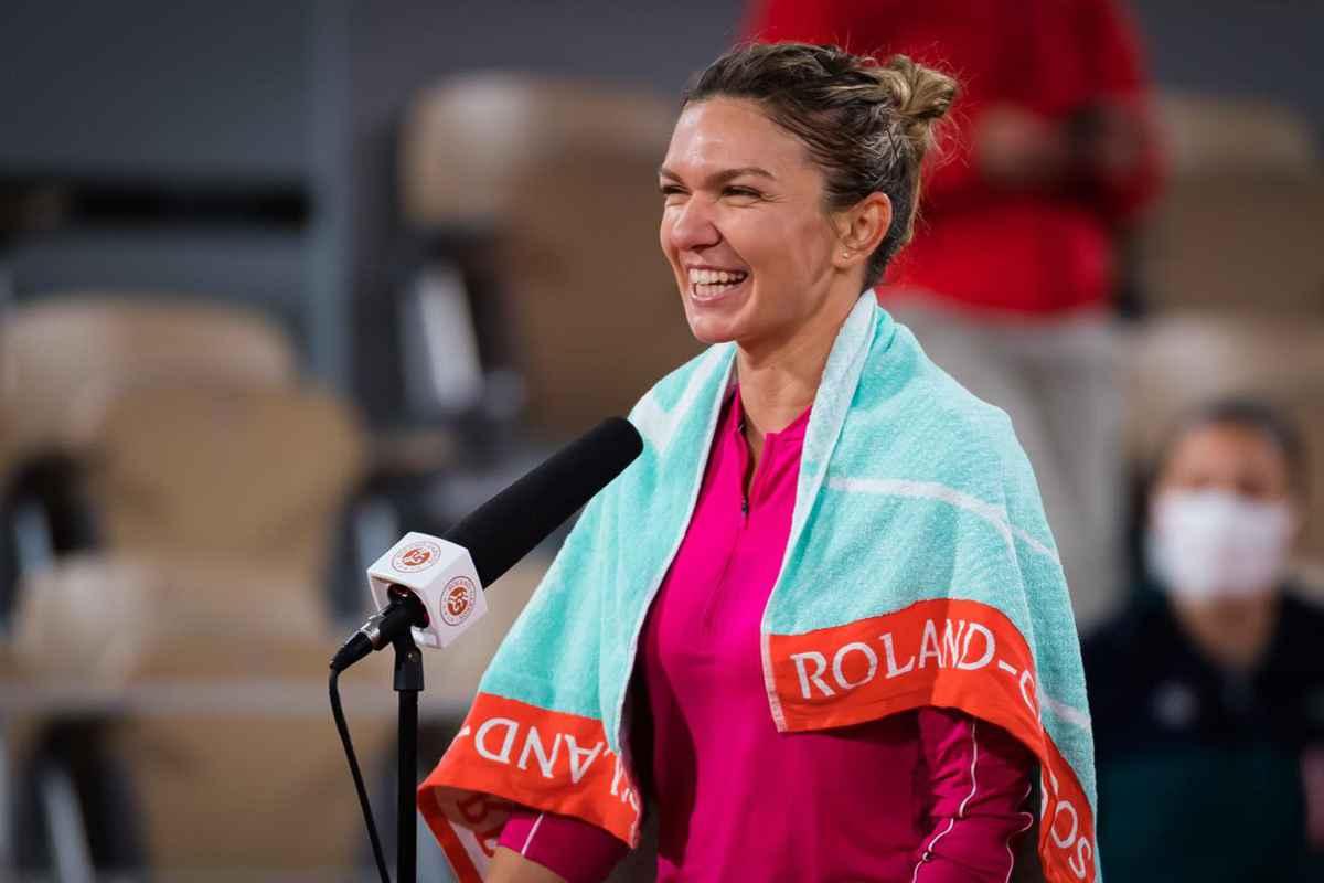 Simona Halep, Roland Garros. foto: Facebook @simonahalep