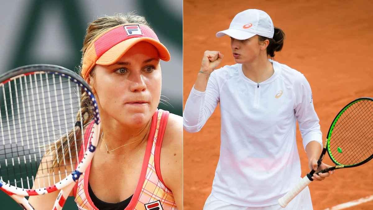 Sofia Kenin - Iga Swiatek, finala feminină de la Roland Garros