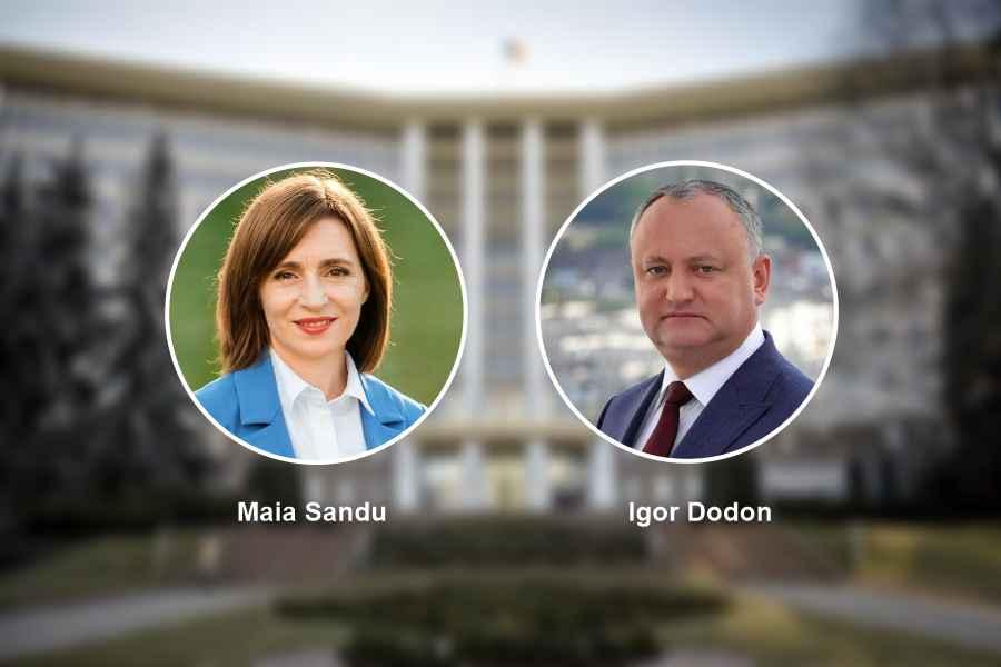 Răsturnare de situație în Moldova: Maia Sandu l-a devansat pe Igor Dodon