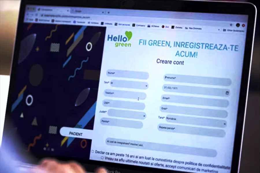 Hello Green - aplicația cu care ești la un click distanță de sănătate! Cum ar fi să ai medicul tău NON STOP?