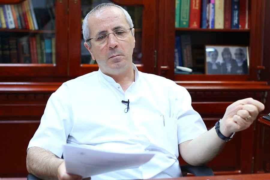 Profesorul doctor Daniel Coriu, preşedinte al Colegiului Medicilor din România