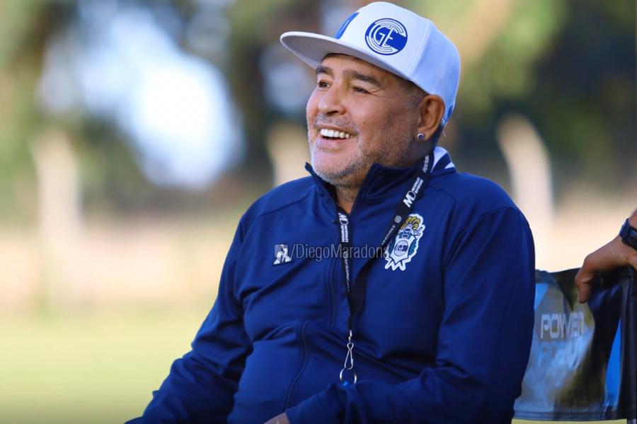 Maradona a fost operat pe creier. foto: Facebook, @diegomaradona