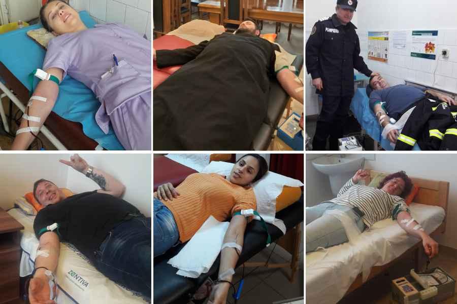 Campioni la donare de plasmă » Hunedoara: asistente, medici, fotbaliști, preoți și polițiști donează plasmă cu REPETIȚIE! Șansă la viață pentru cei infectați cu SARS-COV-2