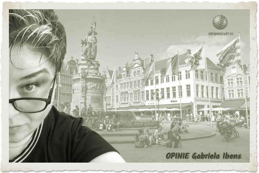 OPINIE de Gabriela Ibens, Antwerpen