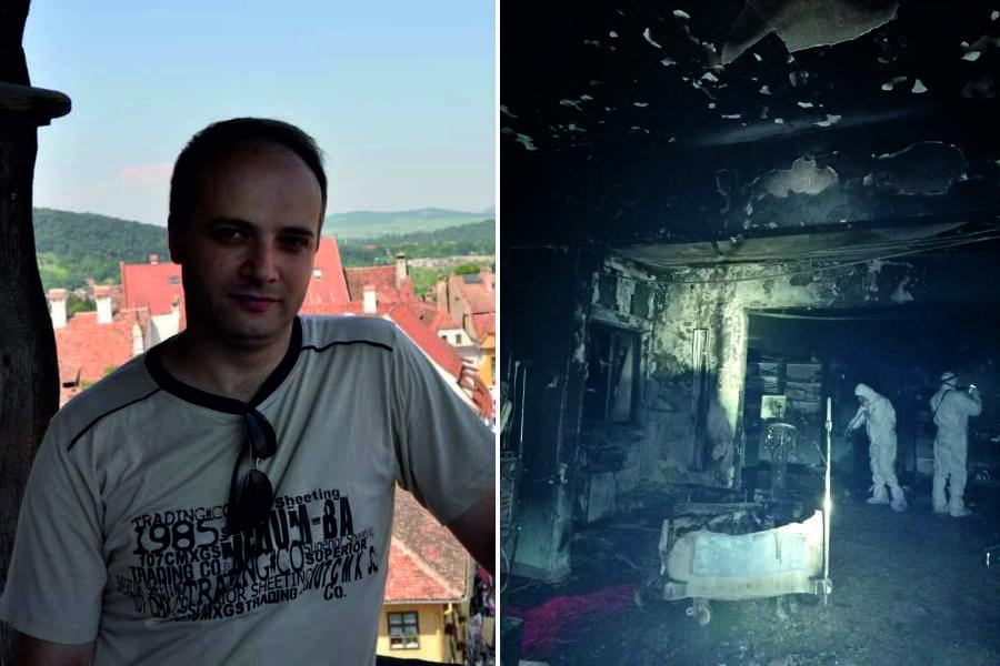 Cătălin Denciu, medicul erou care a încercat să-i salveze pe pacienţii de la ATI Piatra Neamţ, transferat în Belgia