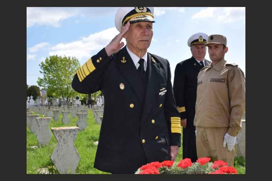 Viceamiralul în retragere Petre Zamfir, ULTIMUL veteran al Marinei Militare, a murit