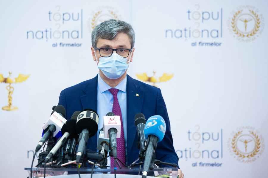 Virgil Popescu: 29.000 de firme s-au înregistrat pentru măsura 1 şi peste 22.000 de firme pentru măsura 2
