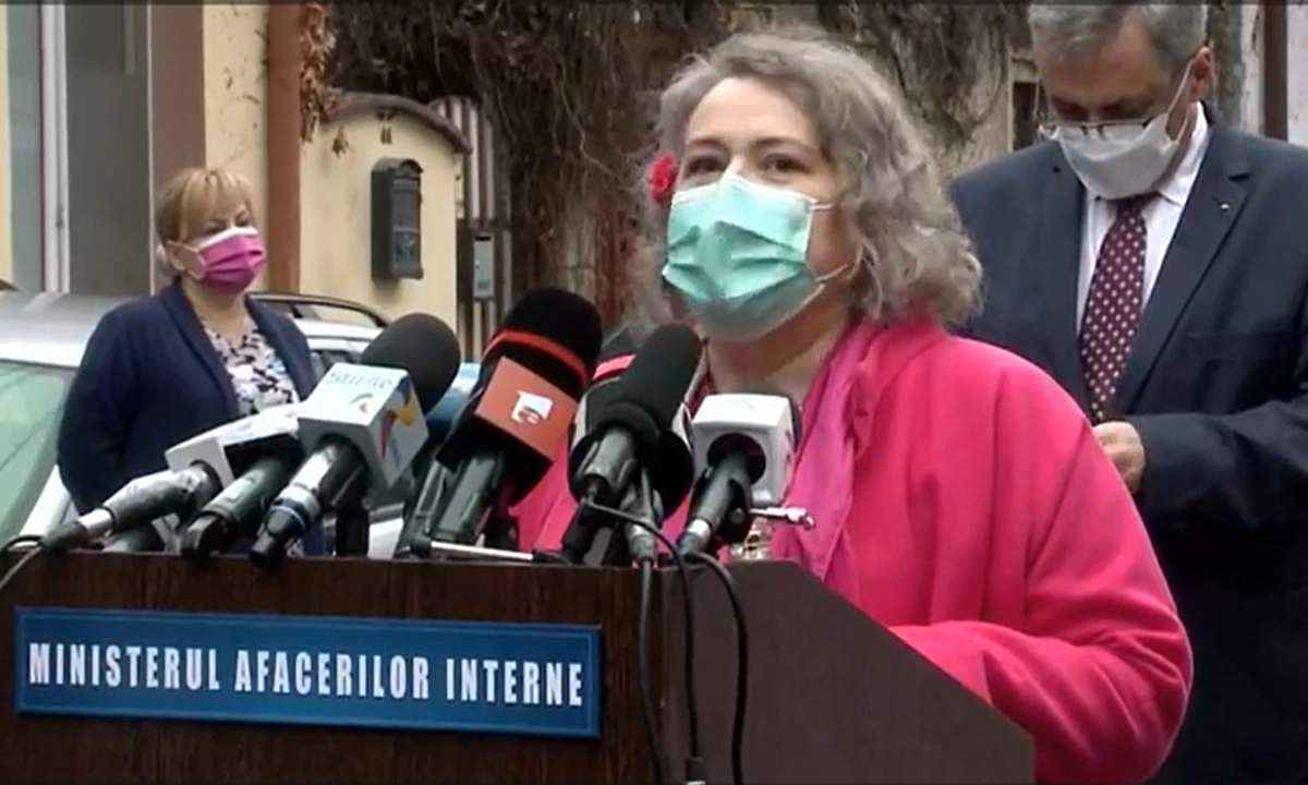Alida Moise Tănase, managerul Spitalului Dimitrie Gerota
