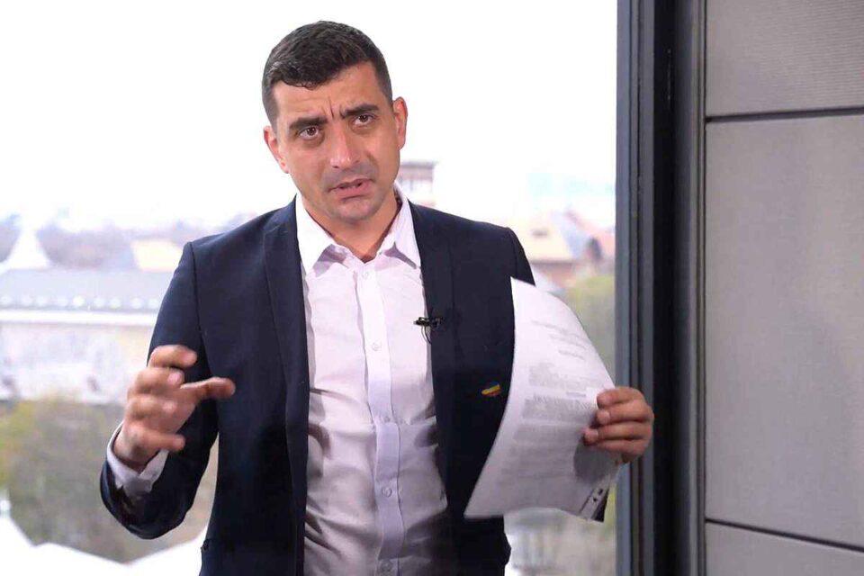 George Simion caută susținere parlamentară pentru a iniția procedura de suspendare a lui Iohannis