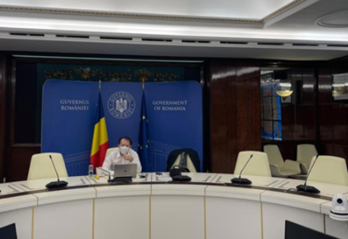 Cîţu, după incendiul de la Balș, transmite condoleanţe familiilor îndoliate