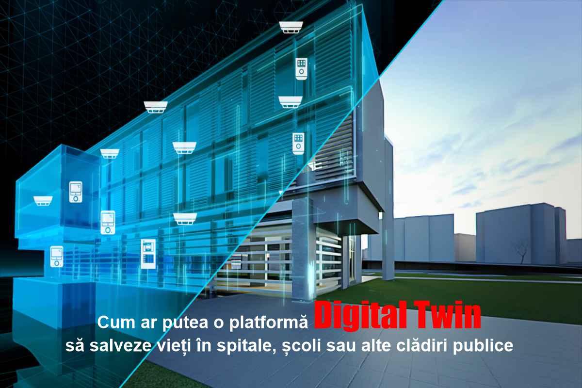 Cum ar putea o platformă Digital Twin să salveze vieți în spitale, școli sau alte clădiri publice