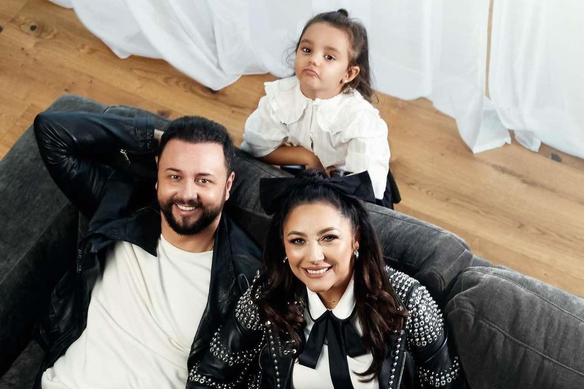 Familia Măruță confirmată cu Covid. Andra, Cătălin și fetița lor, în izolare