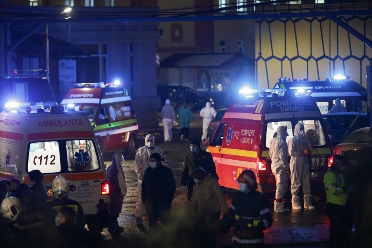 A luat foc Institutul Matei Balș! 4 decese, dintre care 3 persoane carbonizate, și 102 pacienți transferați