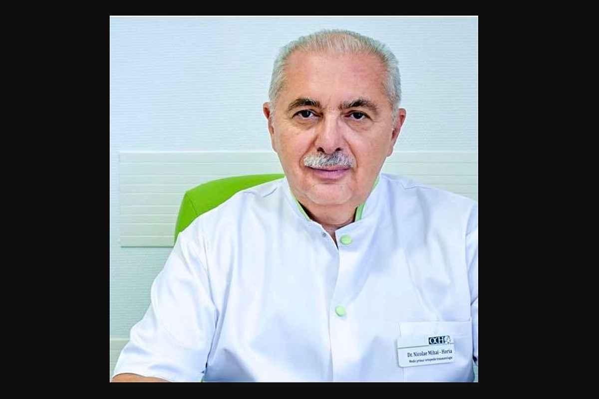 Ortopedia românească e mai săracă. A murit doctorul Mihai Horia Nicolae