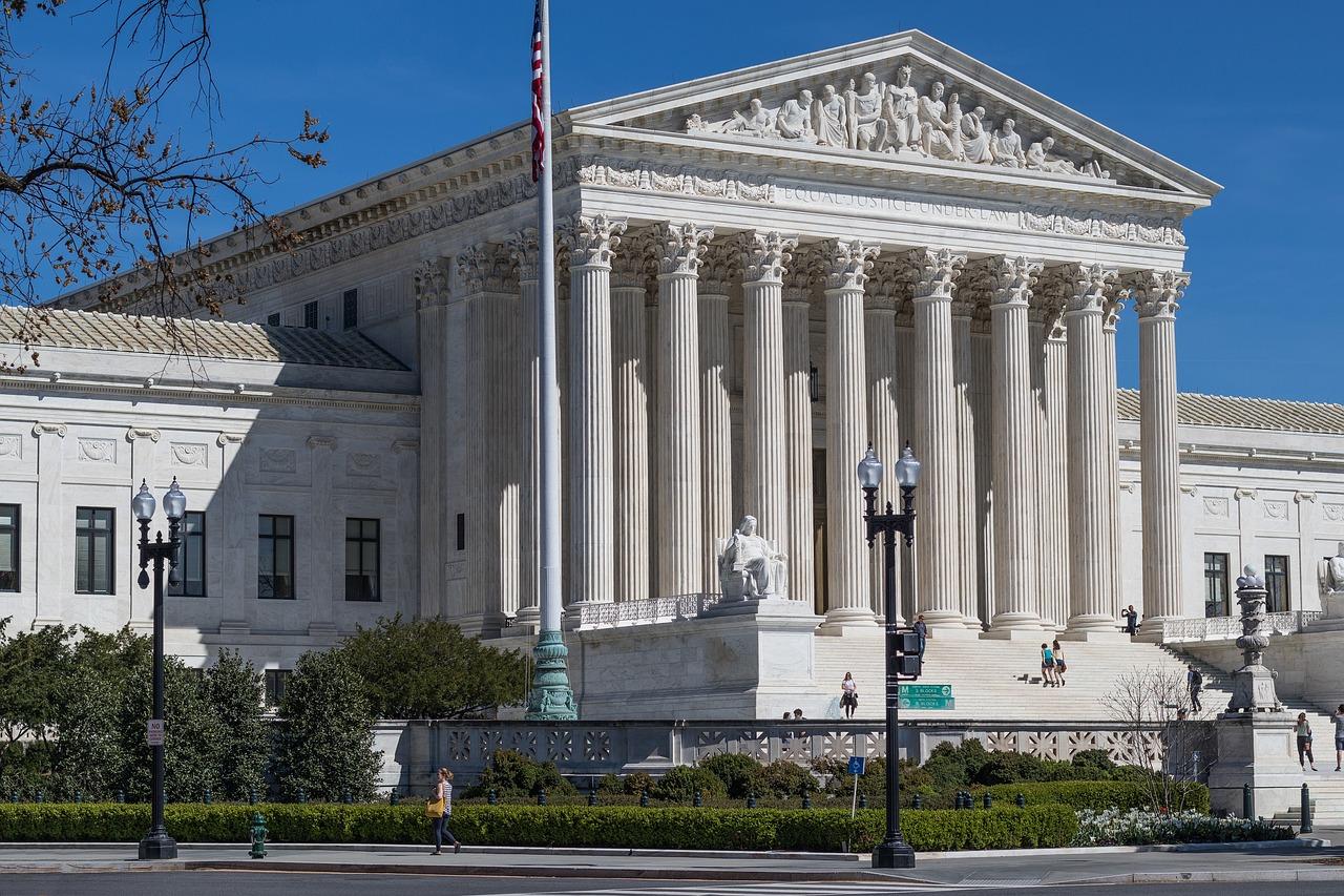 Alertă cu bombă, la Curtea Supremă a SUA, vizavi de Capitoliu