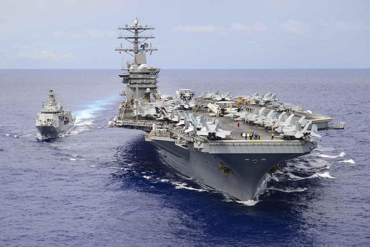 Amenințarea iraniană: SUA menţin portavionul USS Nimitz la Golful Persic