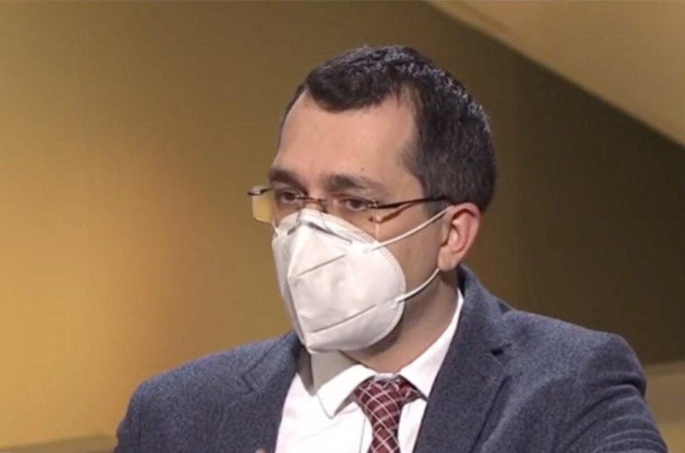 Vlad Voiculescu susține că s-au falsificat cifrele infectărilor COVID, în București, pentru Congresul PNL