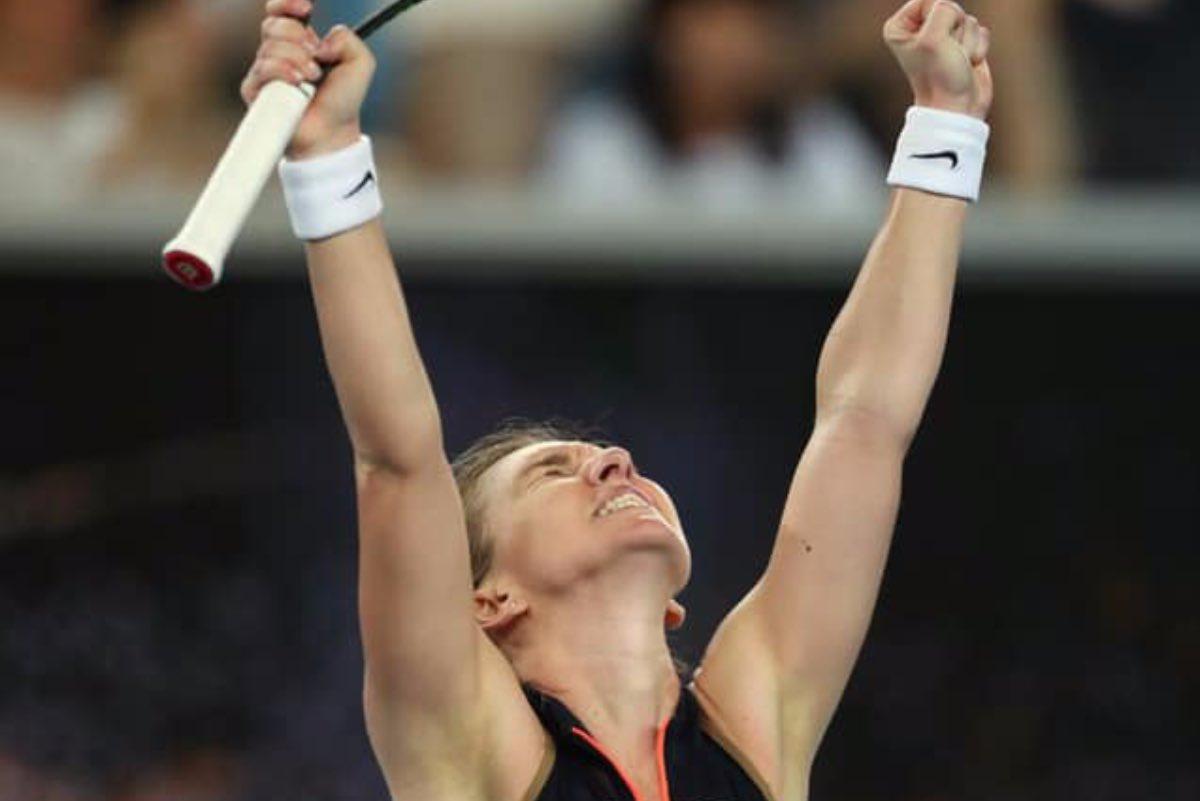 Simona Halep a învins-o pe Kudermetova și s-a calificat pentru a şasea oară în optimi la Australian Open