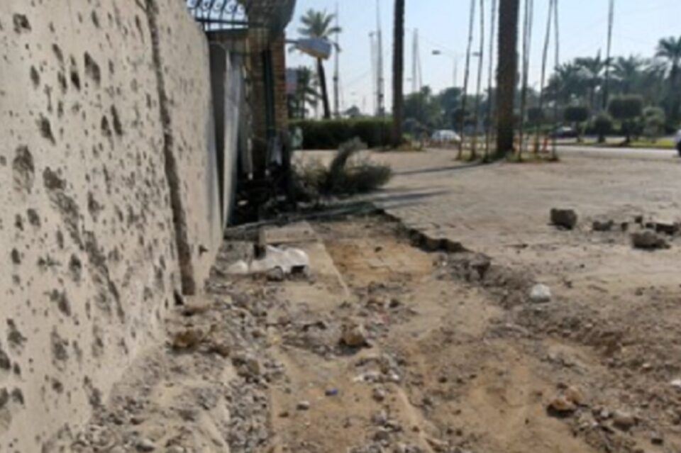 Ambasada SUA, din Bagdad, atacată cu tiruri de rachetă