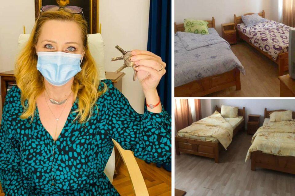 Elena Lasconi a schimbat yala de la Casa de oaspeţi, cuibușorul de nebunii al unora din primăria Câmpulung