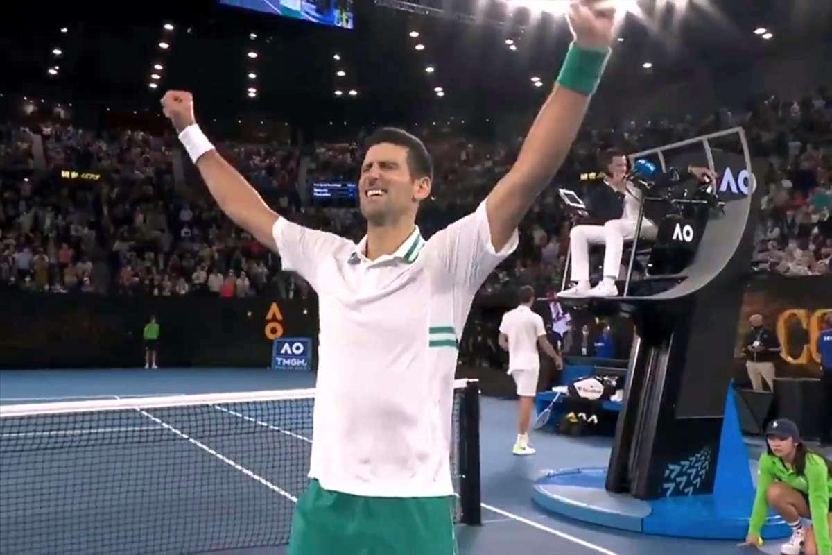Novak Djokovici câștigătorul Australian Open 2021