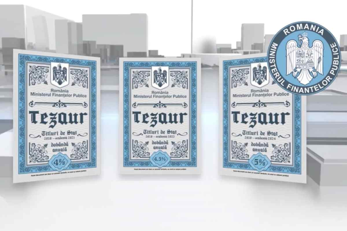 Persoanele fizice pot investi în titluri de stat TEZAUR şi FIDELIS, în luna martie, anunță Ministerul Finanțelor