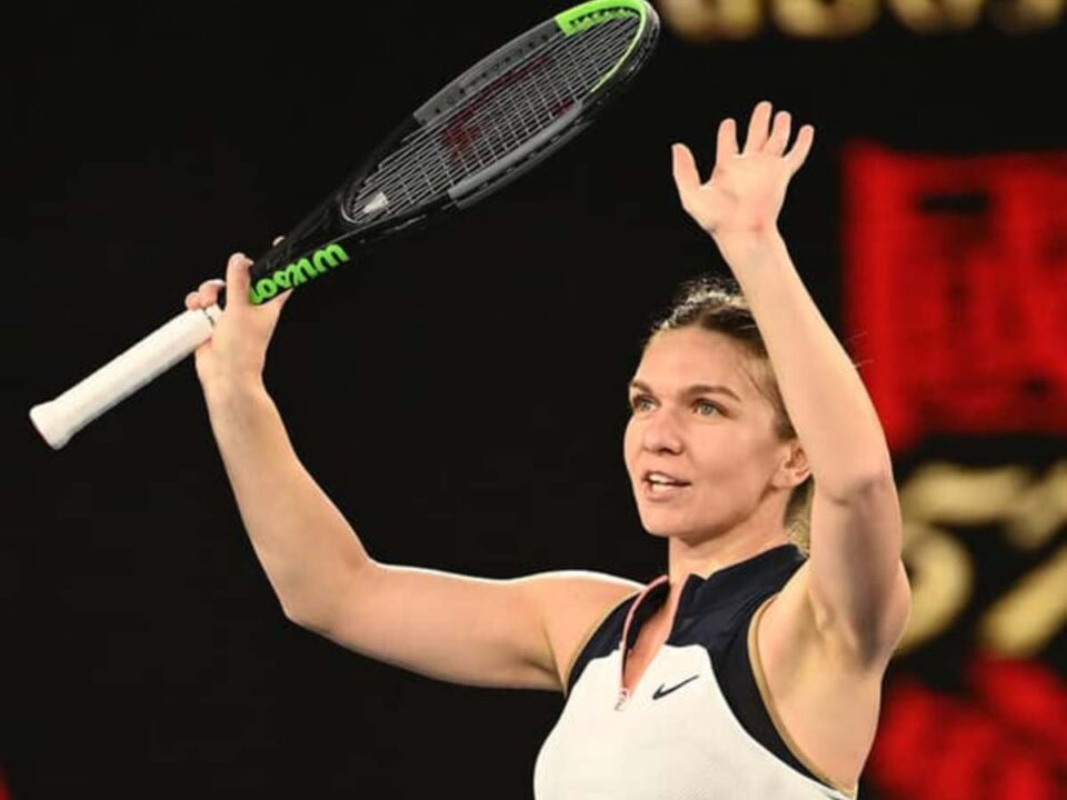 Simona Halep, victoria cu numărul 100 la un grand slam. Ce spune despre meciul cu Serena Williams