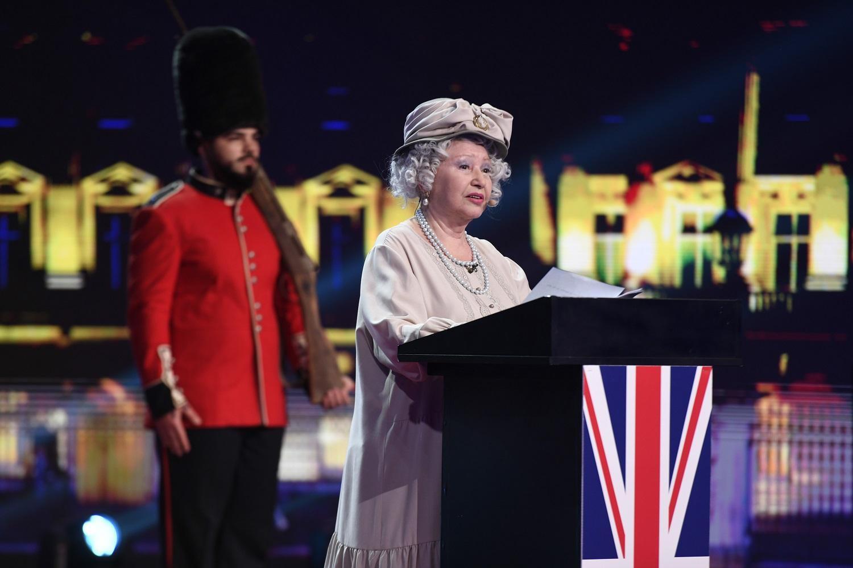 Rodica Popescu Bitănescu va fi Regina Elisabeta, în această seară, la iUmor