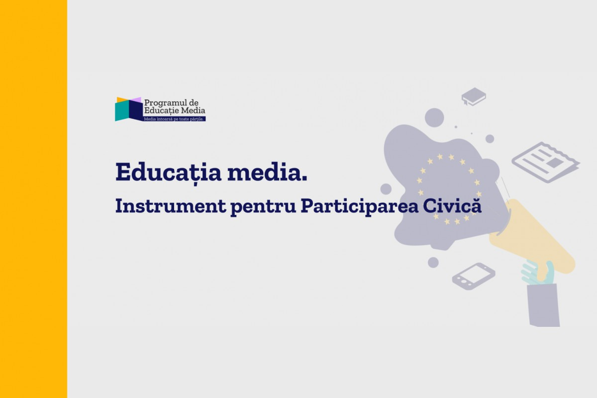 Educația media a copiilor și adolescenților din România, coordonată prin Centrul pentru Jurnalism Independent și UNICEF