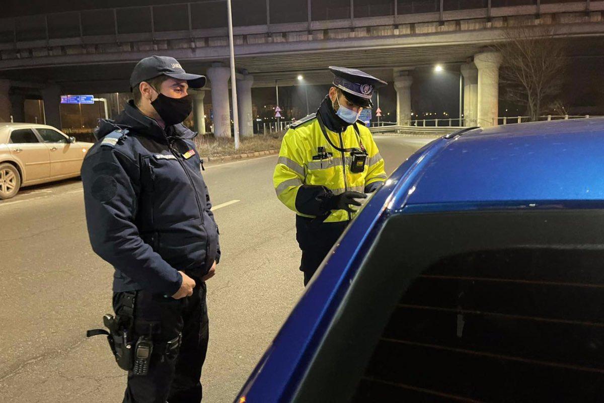 Poliția raportează record de amenzi: Peste 2.500 de sancţiuni contravenţionale, în 24 de ore
