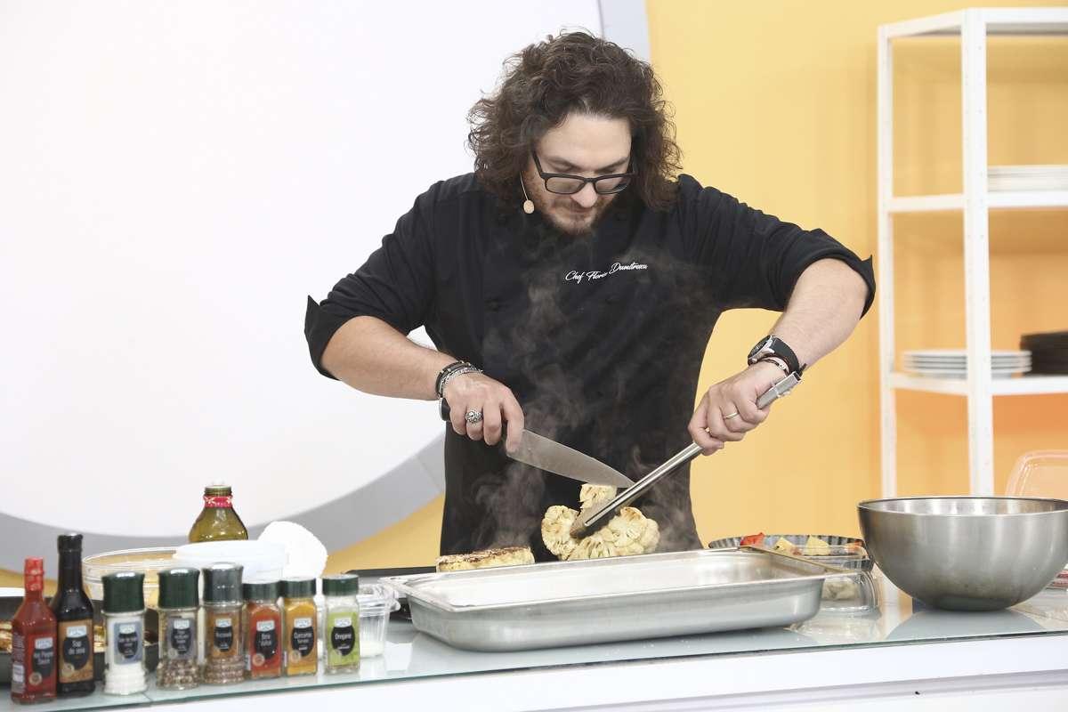 Chef Florin Dumitrescu a oferit cuțitul de aur pentru un un tartar cu păstrăv
