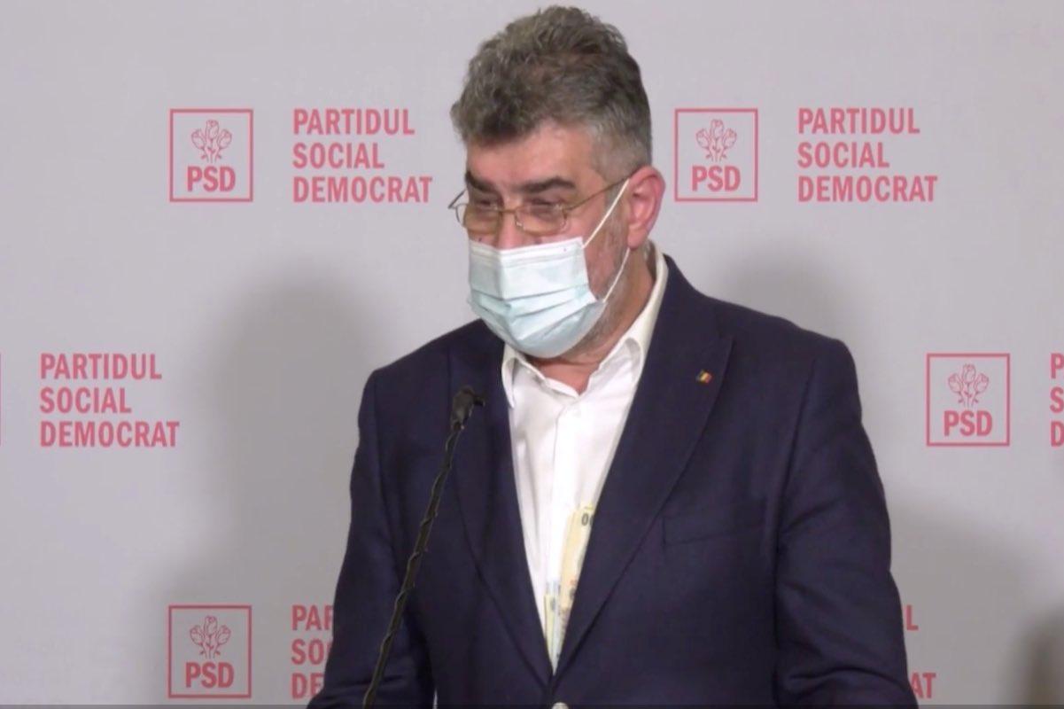 """Ciolacu, prima reacție după ce i-au ieșit banii din buzunar, la conferința de presă: """"Asta înseamnă transparenţă"""""""