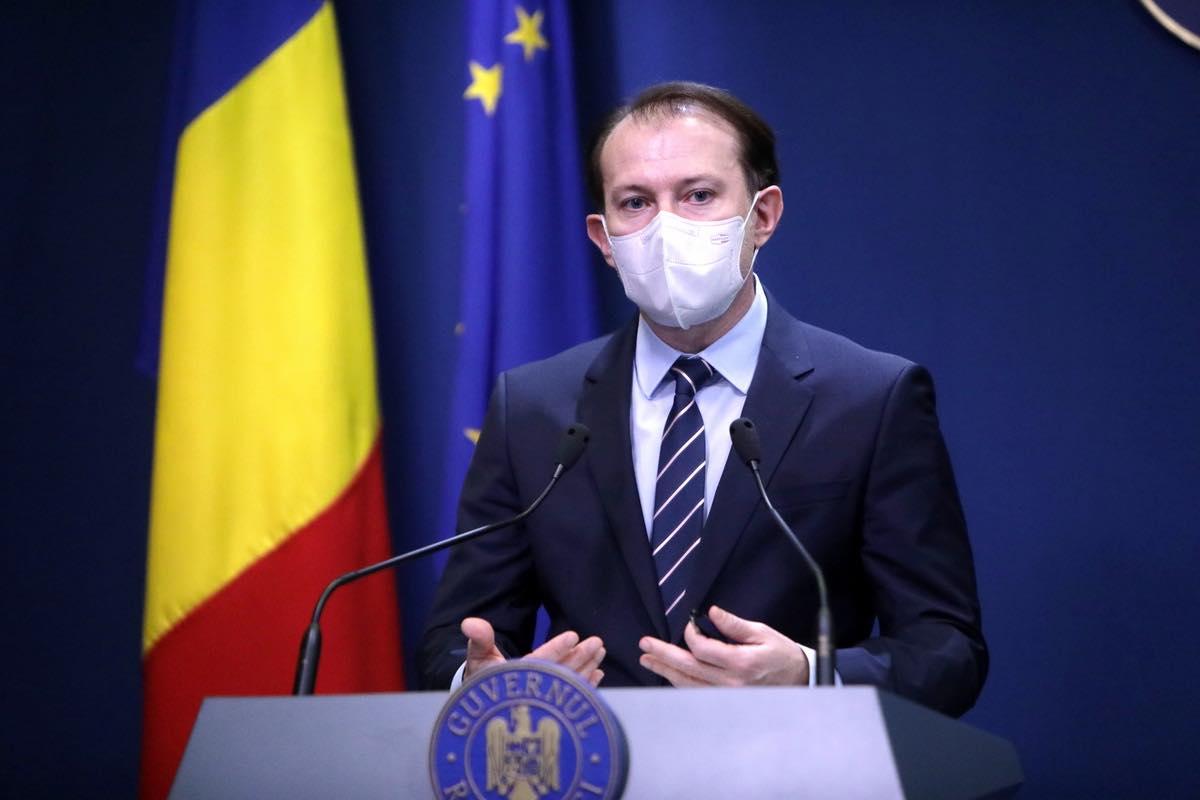 """Cîțu, despre agitația creată în jurul vaccinului AstraZeneca: """"Acțiunile împotriva măsurilor sanitare impuse de Guvern sunt similare cu acțiunea unor teroriști"""""""