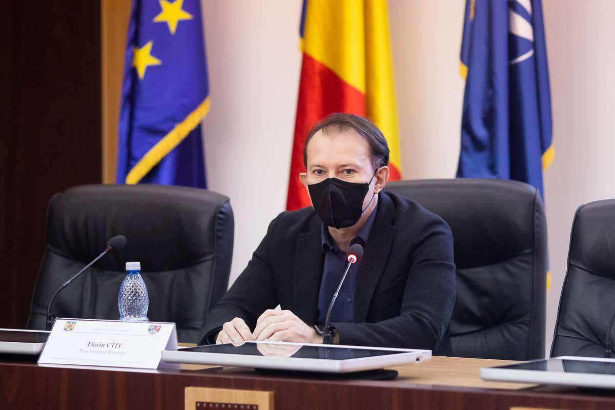 """Florin Cîţu, noi precizări despre verificările de la Ministerul Sănătăţii: """"Ipotetic"""""""