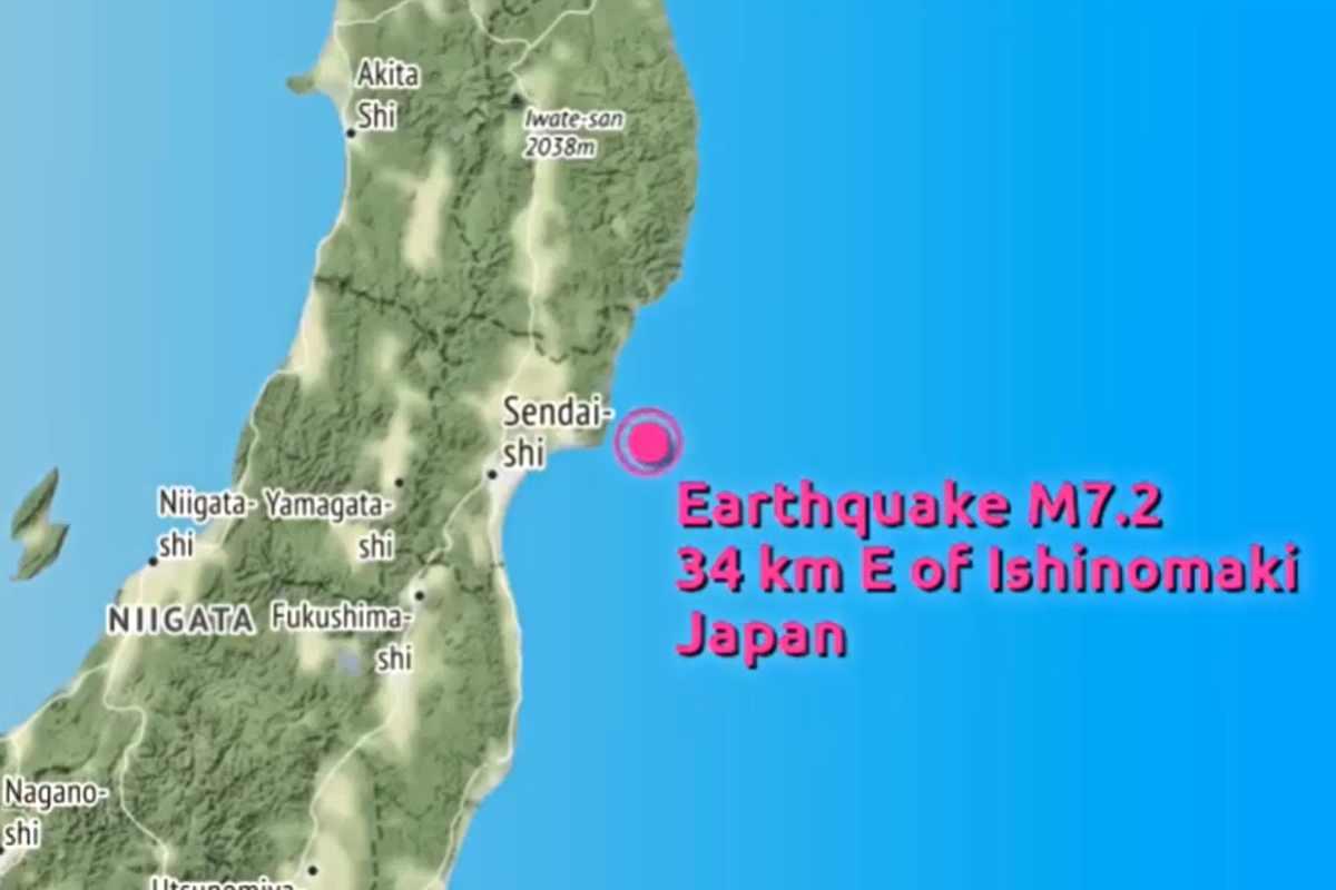 Cutremur de peste 7 grade în Japonia. A zguduit Tokyo. Alertă de tsunami - VIDEO