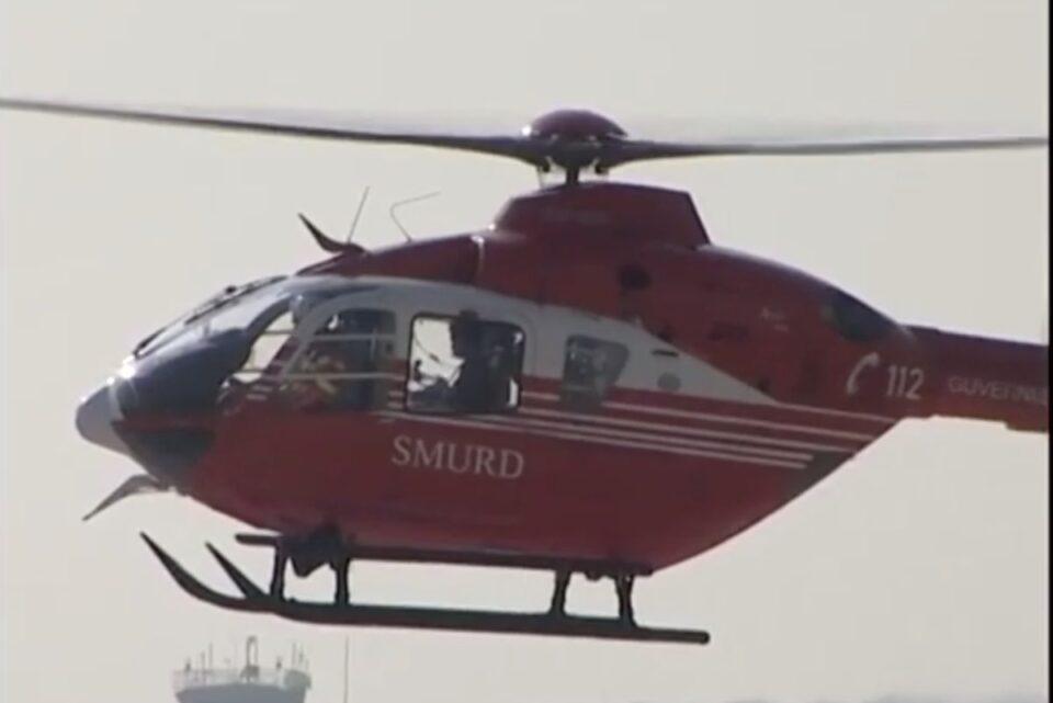Bărbat împuşcat în cap, la o partidă de vânătoare, dus cu elicopterul la spital și operat