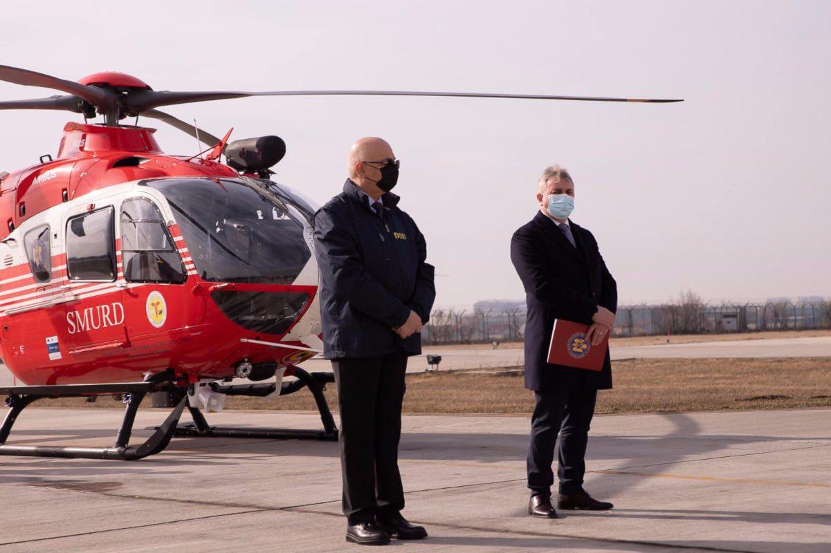 SMURD și-a cumpărat 3 elicoptere H135, pentru a înființa trei noi baze de intervenţie montană