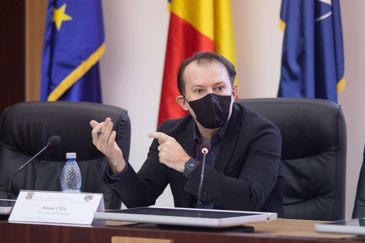 Florin Cîţu: Românii aşteaptă multe de la noi şi nu-i vom dezamăgi. Nu mai există scuze