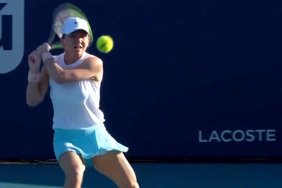Simona Halep a ajuns la 400 de victorii în turneul WTA! Românca a ajuns în turul trei al WTA 1000 de la Miami
