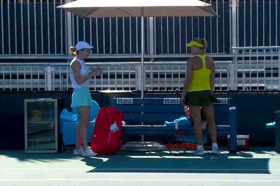 Simona Halep o nouă victorie la Miami Open 2021