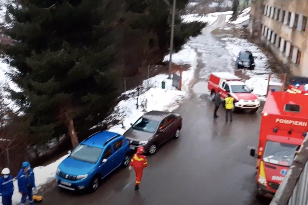 A luat foc încă un spital din România! 70 de persoane evacuate